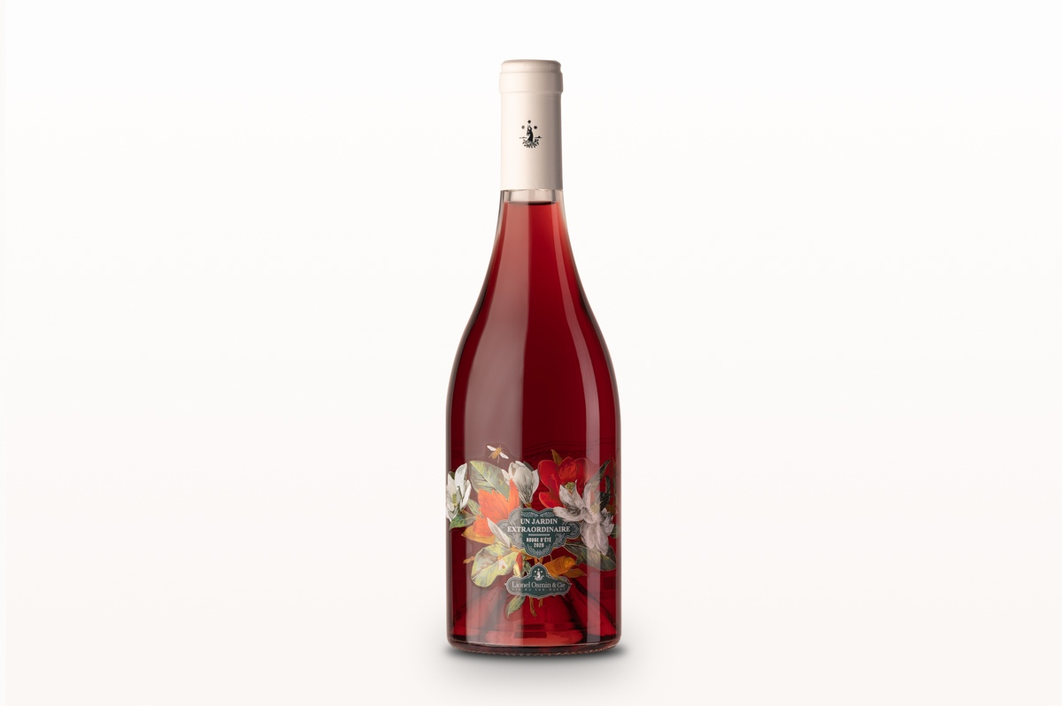 Vin rouge Un jardin extraordinnaire